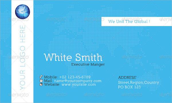 Global Business Cards Bundle
