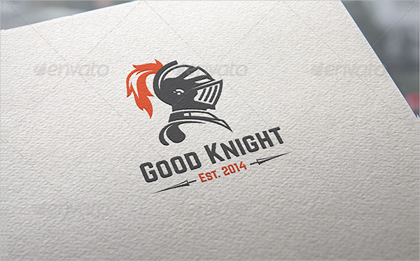 Good Knight Logo Template