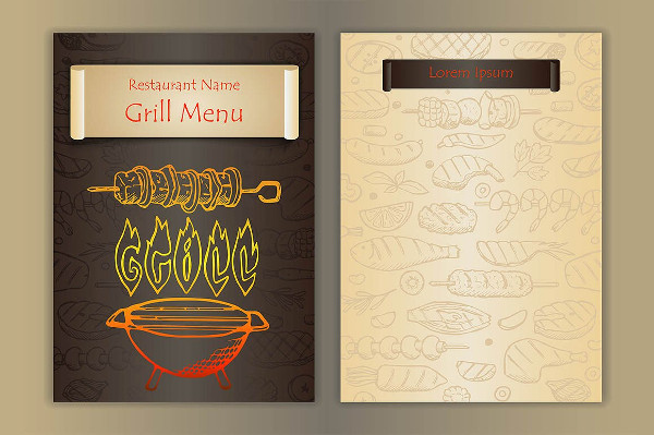 22 printable bbq menu templates free premium download