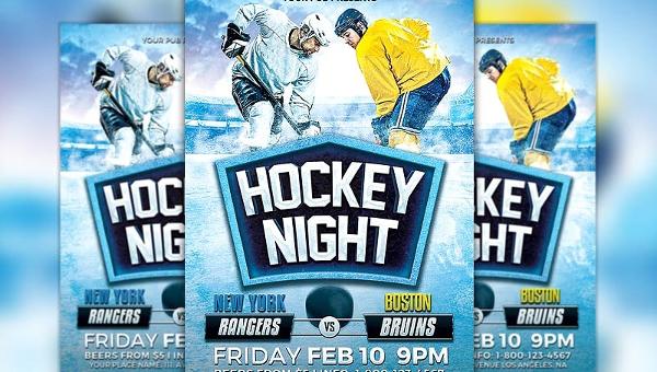 Hockey Flyer