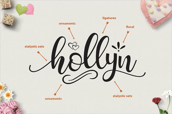 Hollyn Script Font