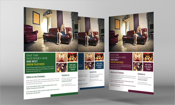 House Interior Flyer Template