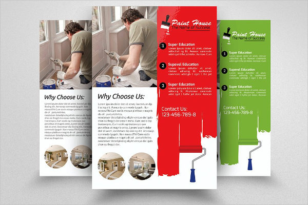 House Paint Contractor Flyer Template