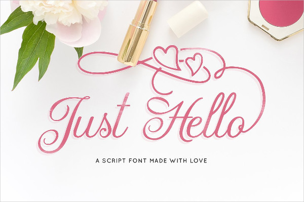 Just Hello Summer Fonts