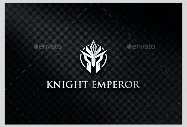 Knight Emperor Logo Template