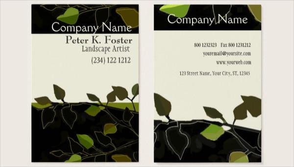 Landscape Nature Tree Business Card