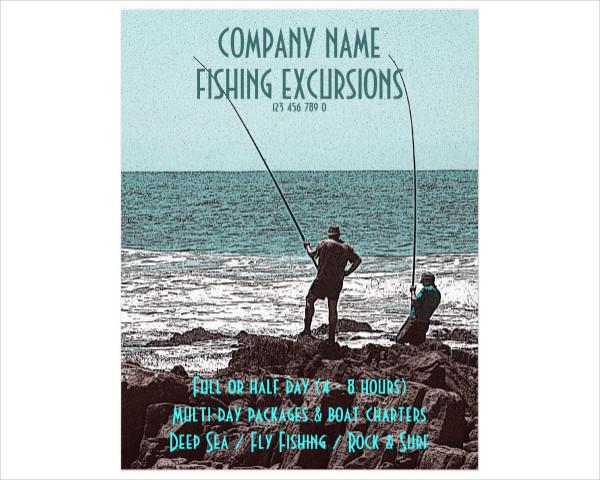 Customizable Fishing Flyers