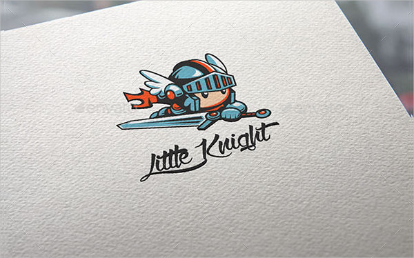 Little Knight Logo Templates