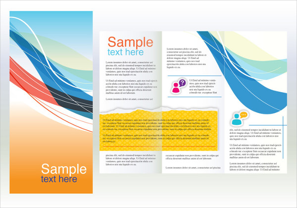 Free Professional Marketing Brochure Template