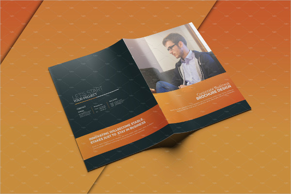 Clean Professional Business Design Brochure