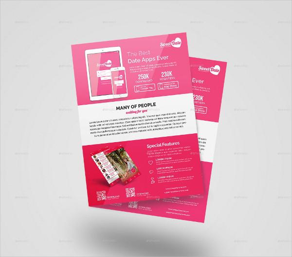 Mobile App Flyers Bundle & Brochure Template