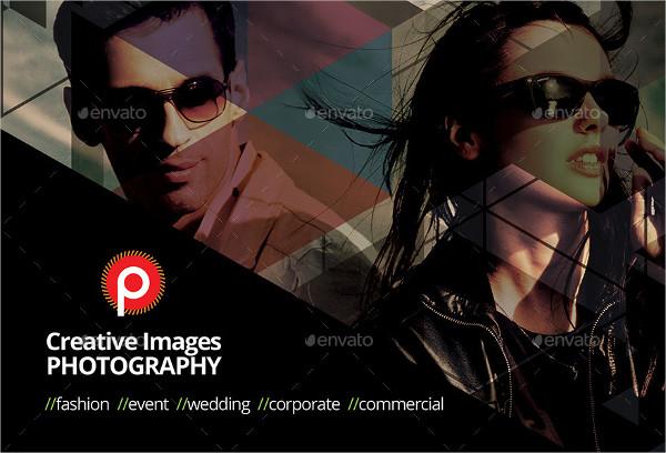 Clean Photography Studio Postcard Template