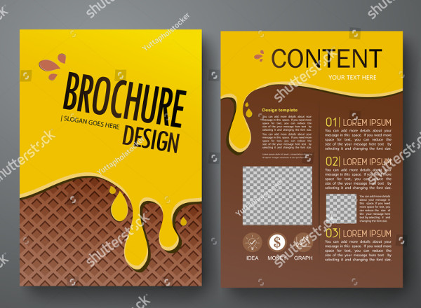 Modern Chocolate Brochure Template