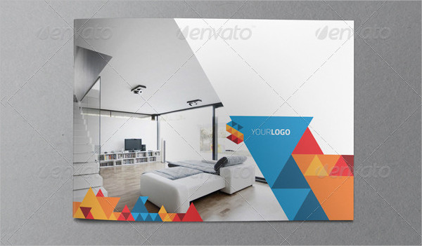 Print Ready Geometric Brochure Template
