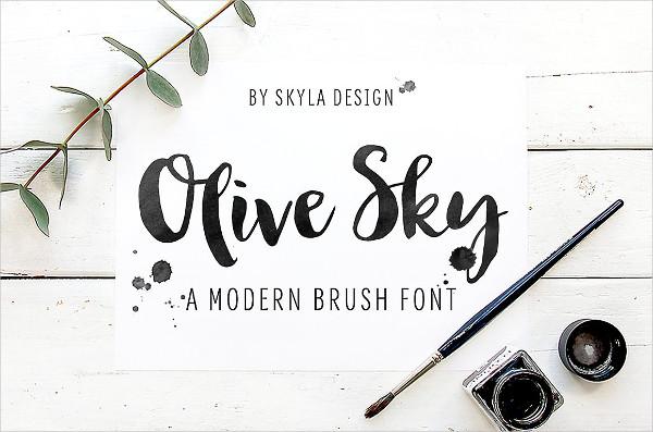 Modern Handwritten Font