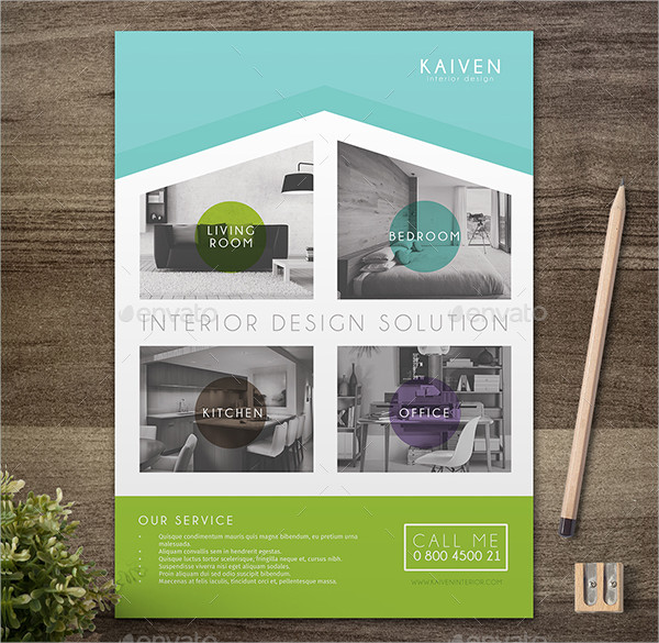 Modern Interior Design Solution Flyer
