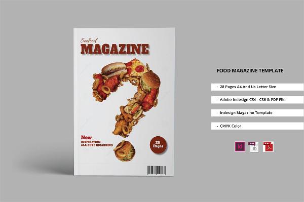 Multipurpose Food Magazine Template