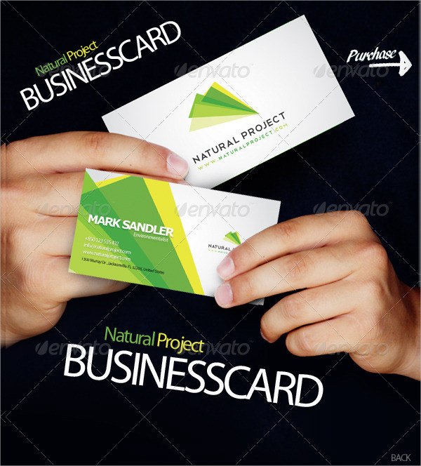 Natural Project Business Card