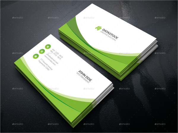 Nature Corporate Business Card