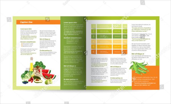 Nutrition Food Magazine Design