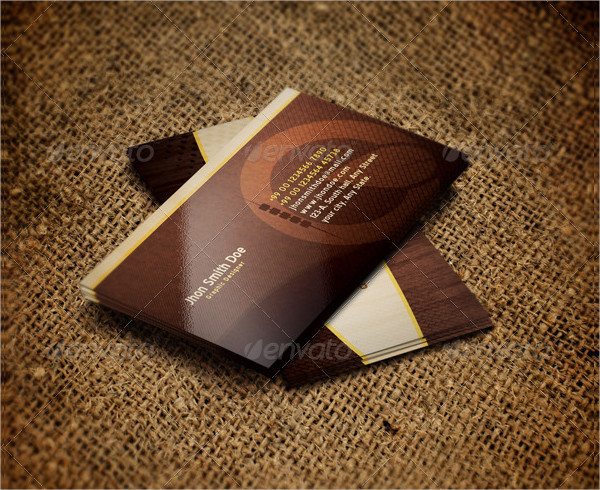 Organic Nature Business Cards