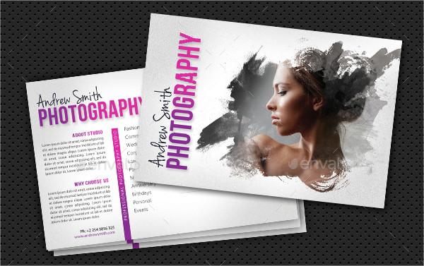 Unique Photography Postcard Templates