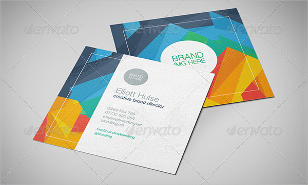 Creative Director Square Business Cards