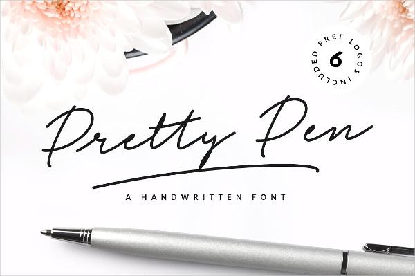 Pretty Pen Handwritten Font