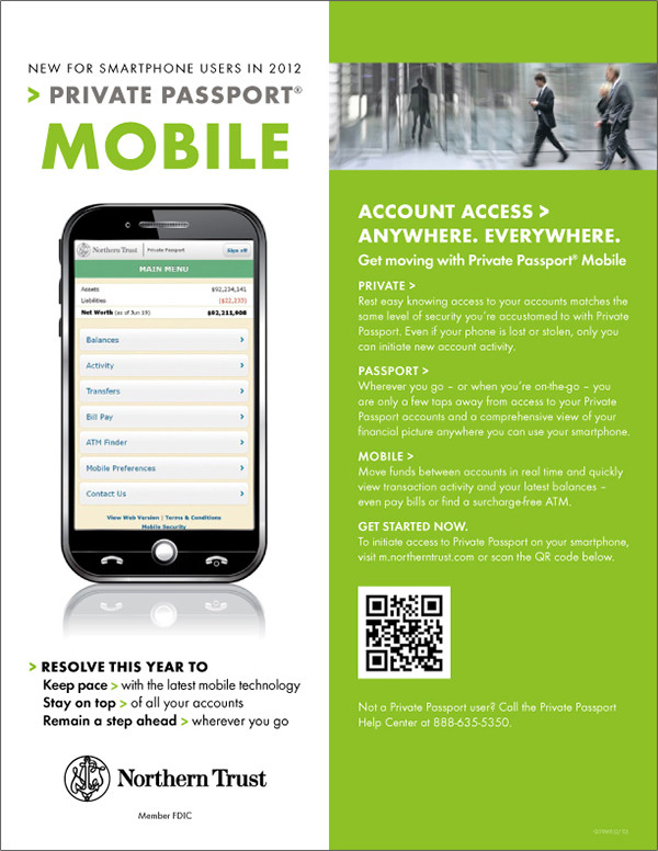 Private Passport Mobile Apps Flyer