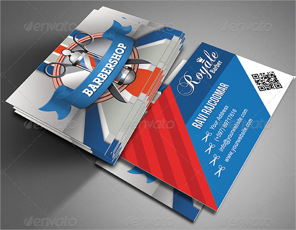 Professional Barber Business Card