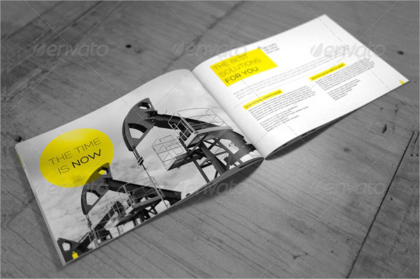 Professional Business InDesign Brochure Template