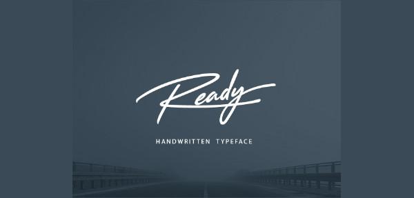 Ready Handwritten Font