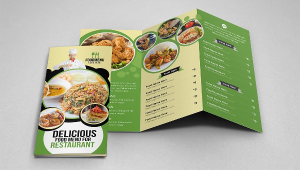 23 restaurant brochure templates free premium download