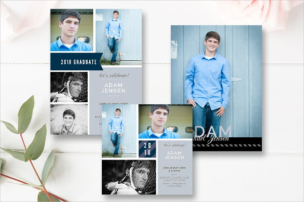Senior Graduation Invitation Template
