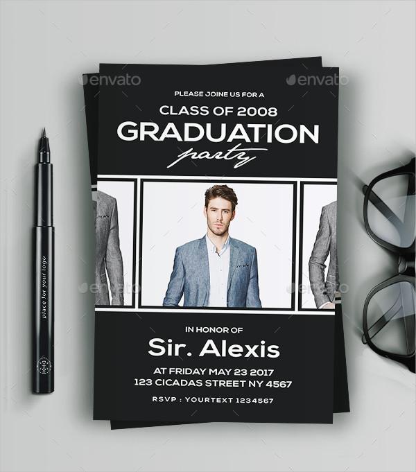 Professional Graduation Invitation Template