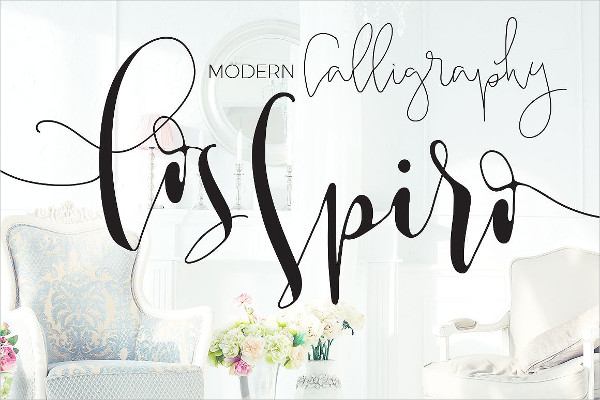 Los Spiro & Smooth Modern Calligraphy Fonts
