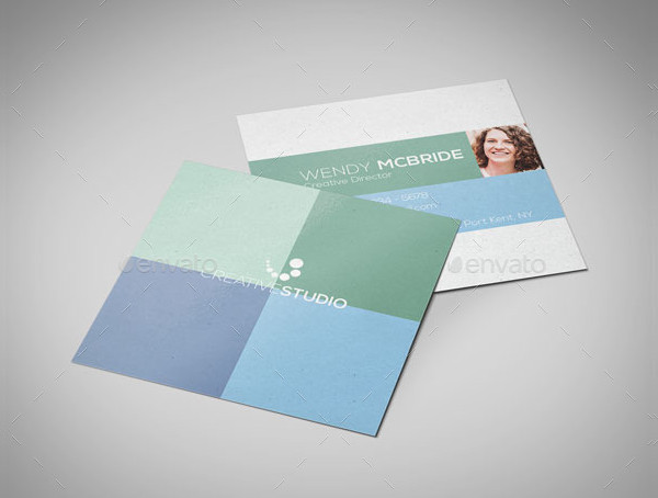 Square Creative Studio Business Card Template