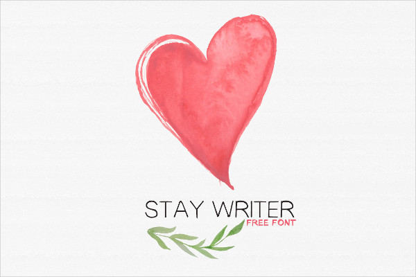 Stay Writer Handwriting Font