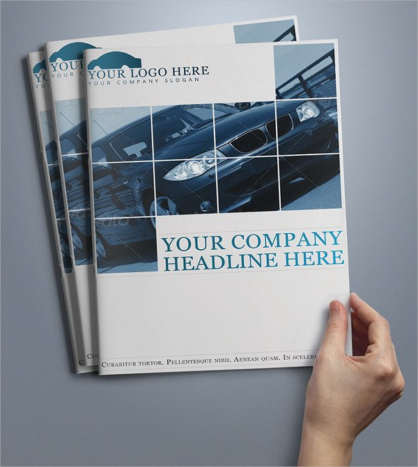 Professional Automobile Brochure Template