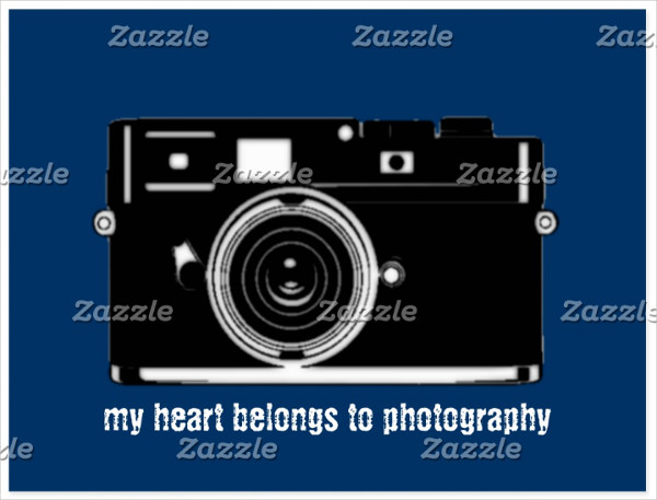 Trendy Photography Postcard Template