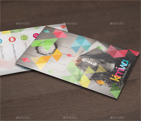 Best Geometry Business Card Template