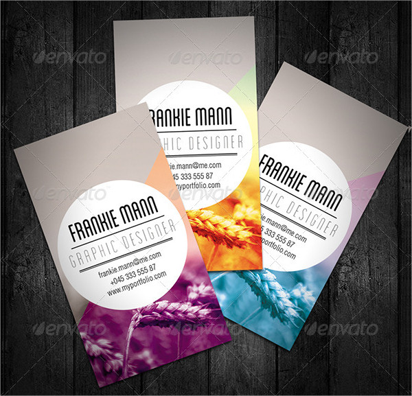 Nature Graphic Designer Business Card Template