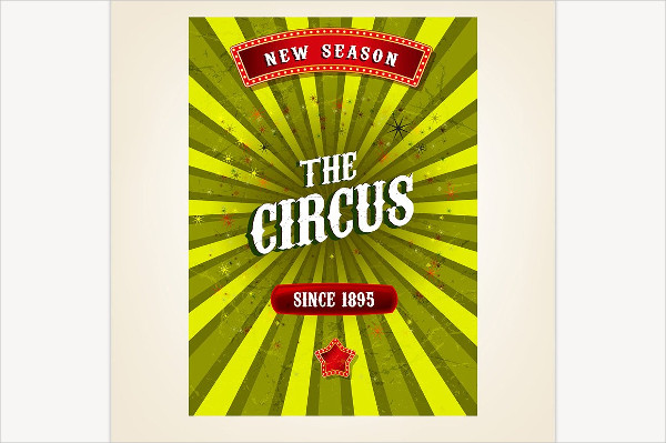 Customizable Circus Poster Template