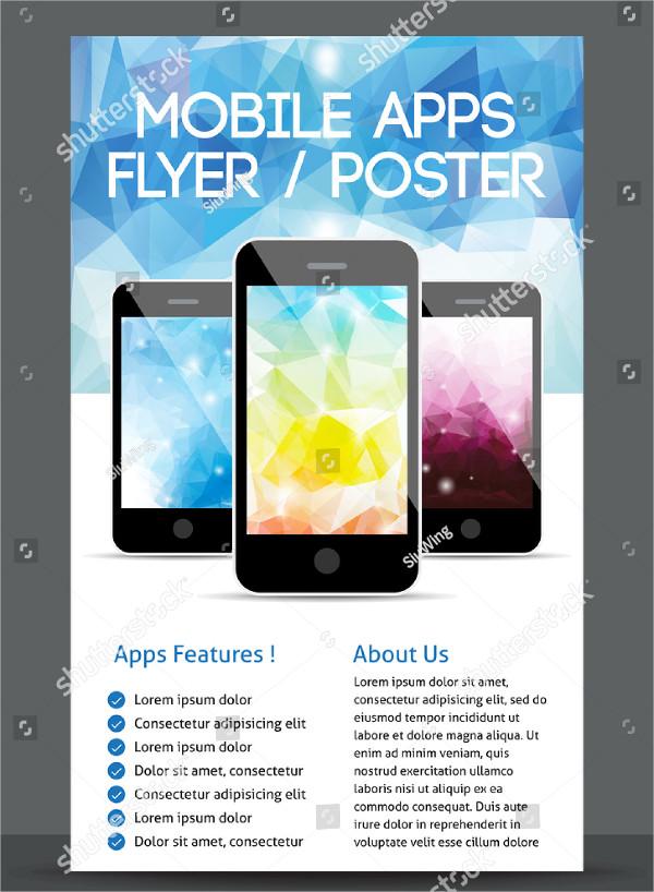 Mobile App Flyer Template - 23+ Free & Premium Download