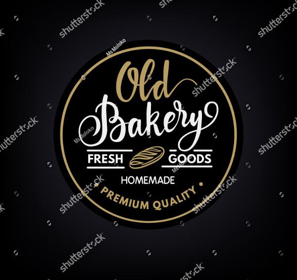 Vintage Bakery Business Logo
