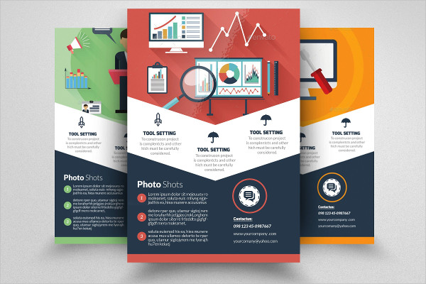Web SEO Business Flyer Template