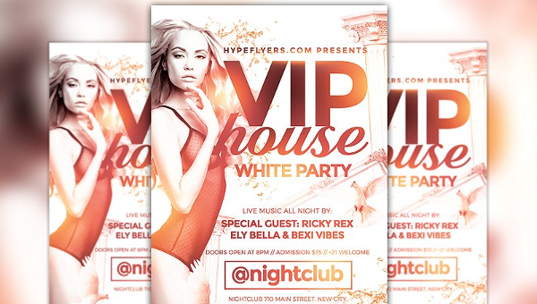 23+ White Party Flyers