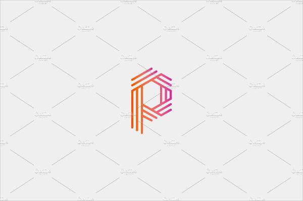 Alphabet P Logo Design