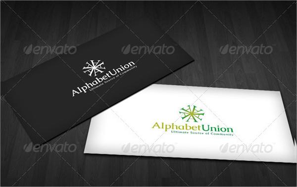 Alphabet Union Logo Template
