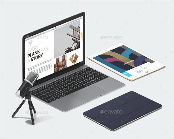 Apple Scene and Mockup Generator